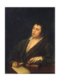 Portrait of the Poet Ivan A. Krylov (1769-184), 1812 Giclee Print by Roman Maximovich Volkov