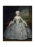 Portrait of Sarah Eleanore Von Fermor, C. 1750 Giclée-Druck von Ivan Yakovlevich Vishnyakov