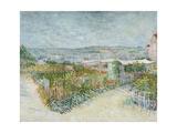 Montmartre: Behind the Moulin De La Galette, 1887 Giclee Print
