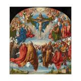 The Adoration of the Trinity (Landauer Altarpiece), 1511 Reproduction procédé giclée par Albrecht Dürer