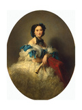 Portrait of Countess Varvara Musina-Pushkina, after 1857 Giclee Print by Franz Xavier Winterhalter