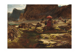 The Sultan and His Camp by the Enchanted Lake, 1888 Giclee Print by Albert Goodwin