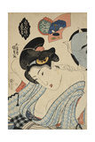 Coming Out Preparation (Competition of Beautiful Women), C. 1830 Giclee Print by Utagawa Kunisada