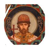 Saint Prince Vasilko Konstantinovich of Rostov, 1885-1896 Giclee Print by Viktor Mikhaylovich Vasnetsov