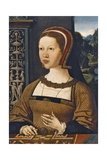 Portrait of Isabella of Austria, Queen of Denmark, Ca 1524 Giclee Print by Jacob Cornelisz van Oostsanen