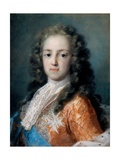 Louis XV of France (1710-177) as Dauphin, 1720-1721 Giclée-tryk af Rosalba Giovanna Carriera