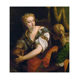 Judith with the Head of Holofernes, C. 1580 Giclee Print by Paolo Veronese