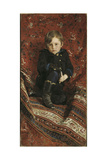 Portrait of Yury Repin, The Giclee Print by Ilya Yefimovich Repin