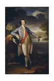 Portrait of Prince Alexander Kurakin (1752-181), C. 1780 Giclee Print by Richard Brompton