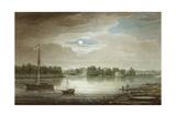 Nevka River Near the Yelagin Bridge, 1829 Giclee Print by Maxim Nikiphorovich Vorobyev