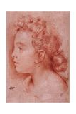 Portrait of Faustina Maratti Giclée-tryk af Carlo Maratta
