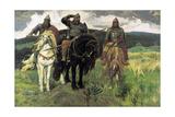 Bogatyrs, 1898 Giclee Print by Viktor Mikhaylovich Vasnetsov