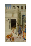 The Beheading of Saint John the Baptist, 1455-1460 Giclee Print by Giovanni di Paolo