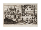 The Great Blessing of Waters at Moscow, 1677 Giclee Print by Jan Luyken