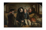 Second Class. the Parting, 1854 Giclee Print
