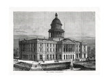 The Capitol, Sacramento, California, USA, 1877 Giclee Print