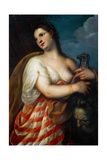 Judith with the Head of Holofernes, before 1636 Giclee Print by  Padovanino