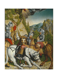 The Conversion on the Way to Damascus Giclee Print by Lucas Cranach the Younger