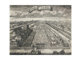 View of the Summer Gardens from the Neva River, 1717 Giclee Print by Alexei Fyodorovich Zubov