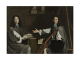 Double Portrait of Both Giclee Print by Philippe De Champaigne