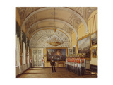 Interiors of the Winter Palace, the Guardroom, 1864 Giclee Print by Eduard Hau
