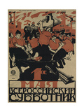The 1st of May Is the All-Russian Subbotnik, 1920 Giclee Print by Dmitri Stachievich Moor
