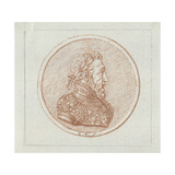 Portrait of King Henry II of France, Second Half of the 17th C Giclee Print by Bernard Picart