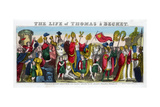 Thomas a Becket's Grand Entry into London…, 12th Century Giclee Print