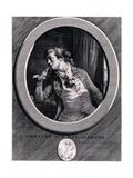 Comptez Sur Mes Serments!, 1789 Giclee Print by Augustin De Saint-aubin