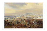 The Battle of Leipzig in October 1813, 1886 Giclee Print by Gottfried Willewalde