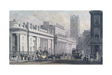 Bank of England, Threadneedle Street, London, C1827 Giclee Print by George Shepherd