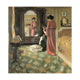 Interior, 1903-1904 Giclee Print by Felix Edouard Vallotton