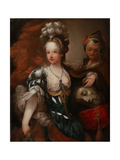 Judith with the Head of Holofernes, Mid of the 18th C Giclee Print by Alexis Grimou