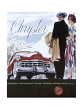 Poster Advertising a Chrysler, 1950 Giclee Print