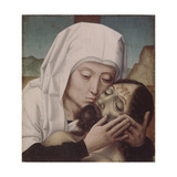 The Lamentation over the Dead Christ Giclee Print by Gerard David