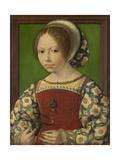 Portrait of Princess Dorothea of Denmark (1520-158), Ca 1530 Giclee Print by Jan Gossaert