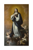 The Immaculate Conception of the Virgin, Mid of 17th C Giclee Print by Bartolomé Estebàn Murillo