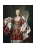 Portrait of Elisabeth Farnese, Queen Consort of Spain, 1723 Giclee Print by Jean Ranc