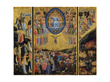 The Last Judgment (Winged Alta), Early 15th C Giclée-Druck von  Fra Angelico