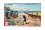 The Plough, Tilling by Using Electricity, C1900 Giclee Print