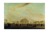The St. Petersburg Imperial Bolshoi Kamenny Theatre Giclee Print by Johann Georg Von Mayr