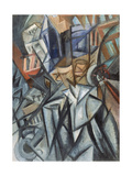 Man on the Street (Analysis of Volume), 1913 Giclee Print by Olga Vladimirovna Rozanova