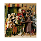 Christ before Pilate. the Wings of the Wurzach Altar, 1437 Giclee Print by Hans Multscher