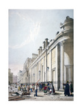 View of the Bank of England City of London, 1842 Giclee Print by Thomas Shotter Boys