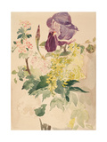Flower Piece with Iris, Laburnum, and Geranium, 1880 Giclee Print by Édouard Manet