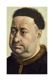 Portrait of a Man (Robert De Masmines), C.1425 Giclee Print by Robert Campin