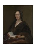 Portrait of Anna Maria Van Schurman (1607-167), 1649 Giclee Print by Jan Lievens