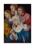 The Virgin, Saint John, Saint Mary Magdalene and a Holy Woman, C.1535 Giclee Print by Bartholomaeus Bruyn