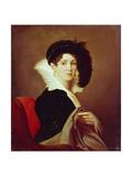 Portrait of Maria Petrovna Buyalskaya, 1824 Giclee Print by Alexei Yegorovich Yegorov