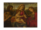 The Virgin and Child with Saints John the Baptist and Catherine, 1504 Giclee Print by Andrea Previtali